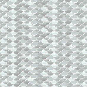 fish scales silver koi