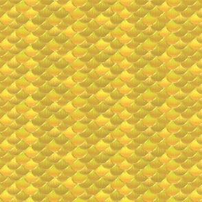 fish scales yellow koi
