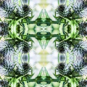 Thistle Tartan -greens