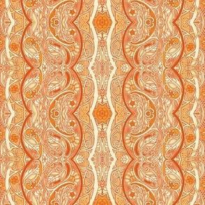 Orange Caterpillar Stripe