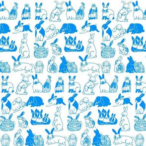 Baby Blue Bunnies