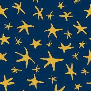 Goldenrod Stars