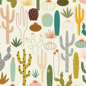 Mod Desert Garden