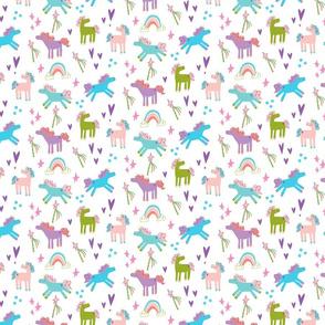 bright unicorns