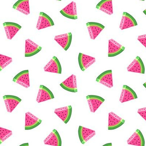 (small scale) watermelons - summer fruit fabric - LAD19