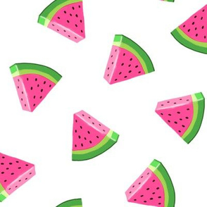 watermelons - summer fruit fabric - LAD19