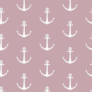 anchors - mauve - LAD19