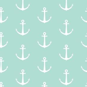 anchors - aqua - LAD19