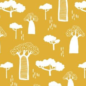 Safari Trees, Yellow