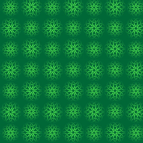 Seamless pattern with celtic knots of shamrocks.