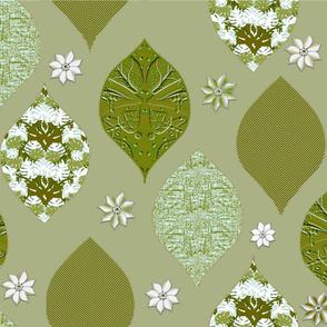Desert Blooms - Avocado