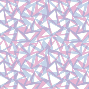 Triangle texture pastel