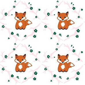 Little orange fox