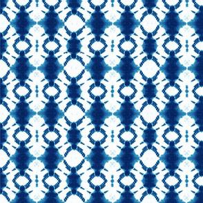 Shibori rotary in indigo