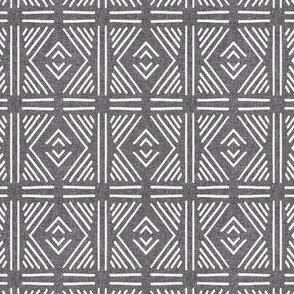 tribal diamond mudcloth linen sm