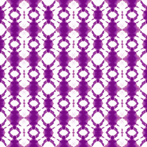 Shibori rotary in purple