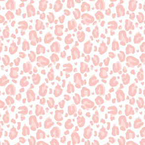 navy leopard print fabric, wallpaper & home decor ...Light Pink Cheetah Print Background