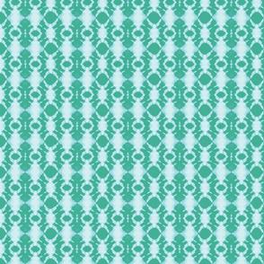 Shibori rotary in jade