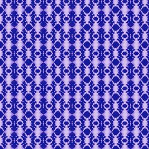 Shibori rotary deep purple