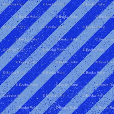 DiagonalSpatterStripeBlue