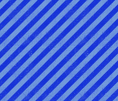 DiagonalSpatterStripeBlue fabric by beckarahn on Spoonflower - custom fabric