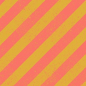 DiagonalSpatterStripeCoral