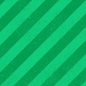 Diagonal Spatter Stripe Emerald