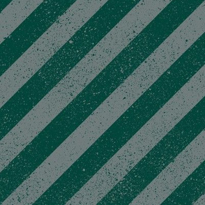 Diagonal Spatter Stripe Wizard Green