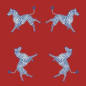 Zebra-red blues