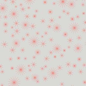 TwinkleStarsLimited_GrayCoral by Paducaru