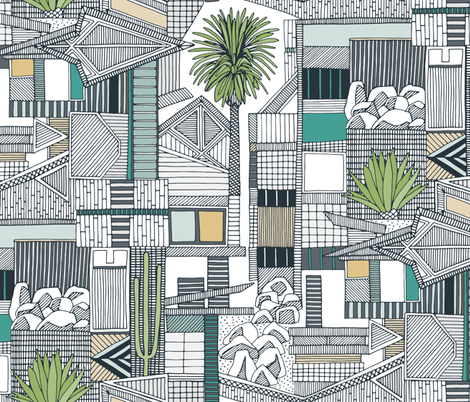 sonoran fabric by scrummy on Spoonflower - custom fabric