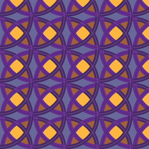 Purple-Orange-Knot