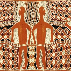 Aborigine Tribal - 24x20