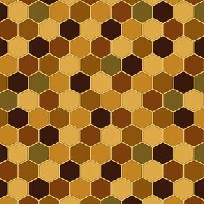 Bees_ Dinosaurs and Seahorses autumn shades