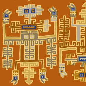 Inca Royalty - Wallpaper 24x36