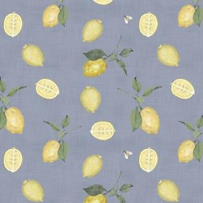 Lemons on Linen