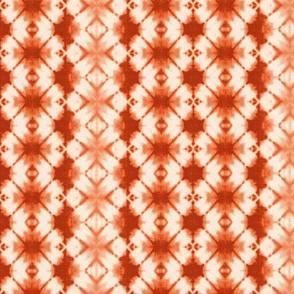 shibori vertical in sepia