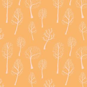Bare Trees - Yellow