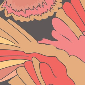 BIRDS_CLOUDS_CORAL_SEAMLESS_STOCK