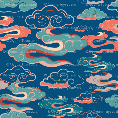 CLOUDS_MONGOLIAN_BLUE_SEAMLESS_STOCK