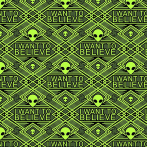 I want to believe aliens- large