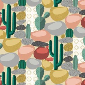 Modern Desert Cactus