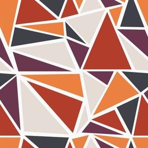 Mod Geo (2X) - Mosaic (Sunset)