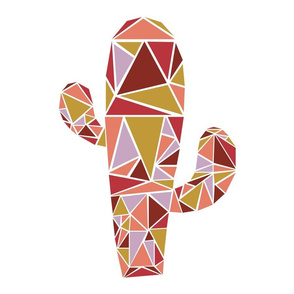 Mod Geo (4X) - Cactus (Dawn)