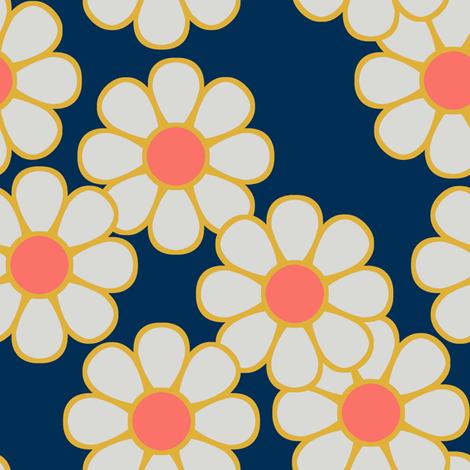 Spring Flower ~ Autumn Picnic fabric by catsinredhats on Spoonflower - custom fabric