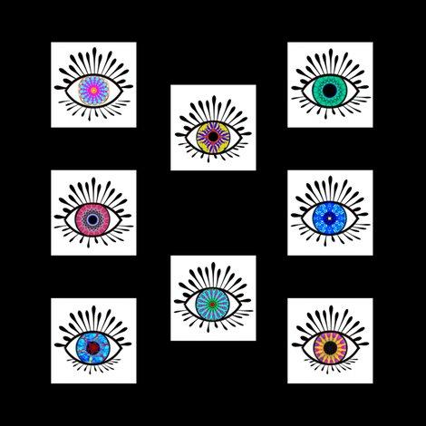 Mandala Eyes - The Windows To The Soul, Black and White