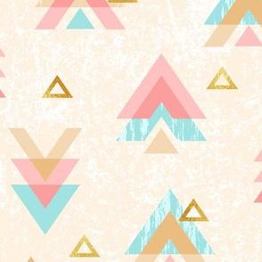 Sweet Triangles Modern Geometric (Large Scale)