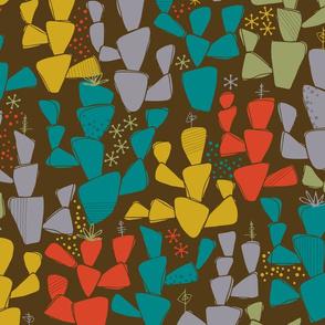 Cacti in the Desert Modernism