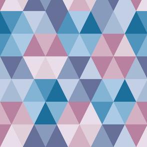 Bluish triangle