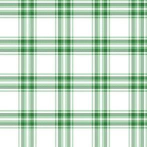 green st. patrick's plaid